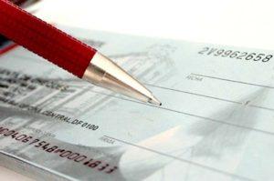 rastreamento de cheques